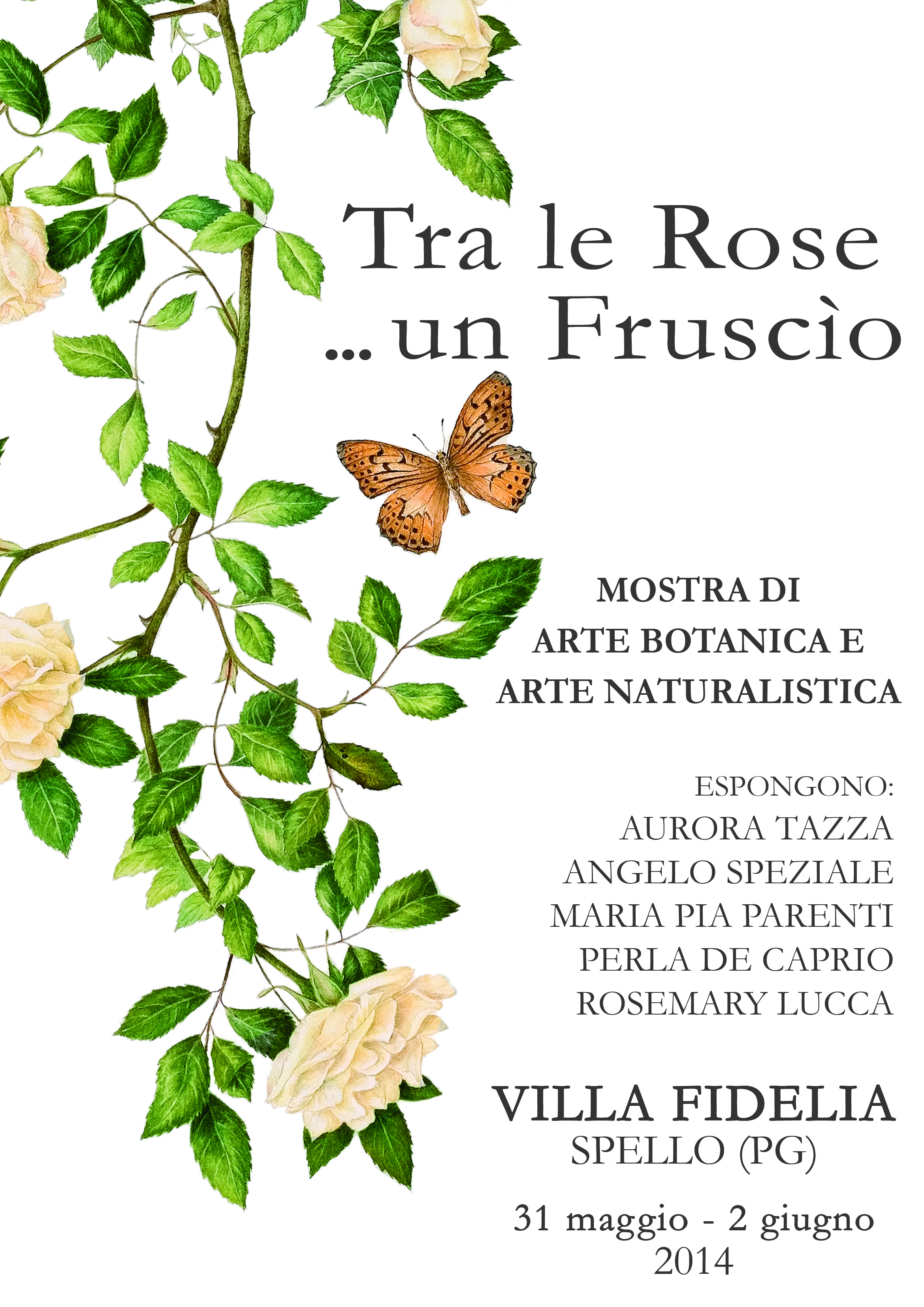 31 May – 2 June 2014, VILLA FIDELIA, Spello, Italy